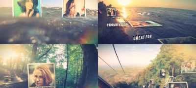 Cinematic Photo Slide