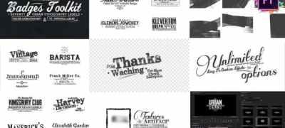 70 Grunge Titles For Premiere Pro | MOGRT