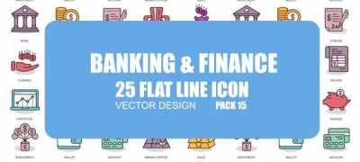 Banking And Finance - Flat Animation Icons