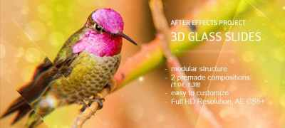 Glass Slides 3D