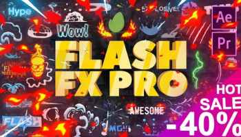 After Effects Projects | Download 140 Flash FX Elements