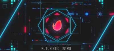 Futuristic intro