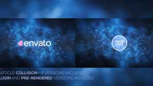 Particle Collision Logo Opener Pack