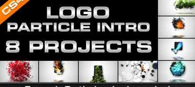 Logo Particle Intro (8in1)