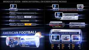 Broadcast Design - Sport on-screen graphic package