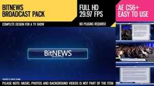 BitNews (Broadcast Pack)