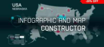 infographic and map constructor