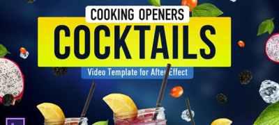 Cooking Design Pack - Cocktails