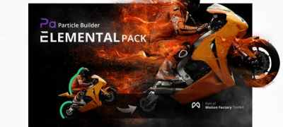 Particle Builder   Elemental Pack: Fire Sand Smoke Sparkle Particular Presets