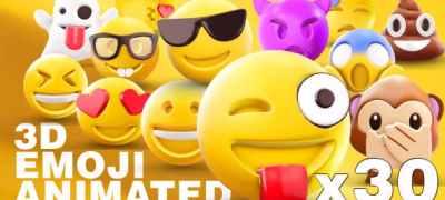 EMOJI 3D animated