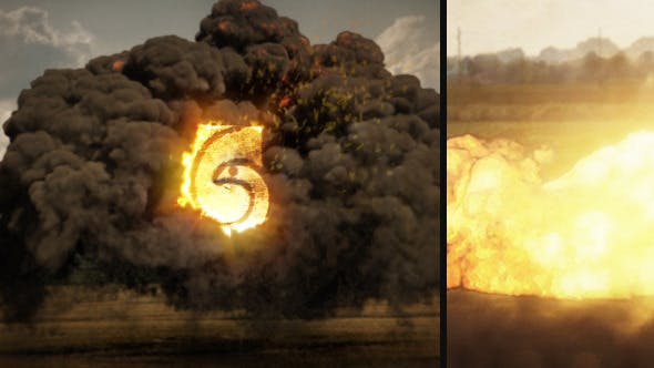 Download Explosion Logo – FREE Videohive