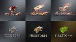 Flame & Metal / Fire Logo Reveal