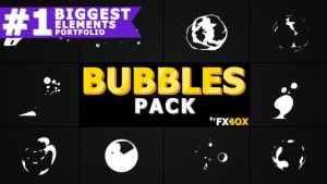 Flash FX BUBBLE Elements | After Effects