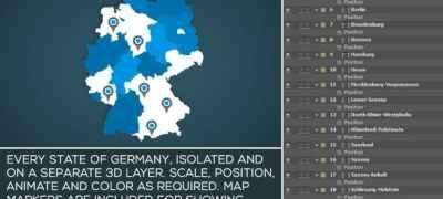 Germany Map Kit