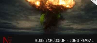 Huge Explosion - Logo Reveal