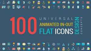 Animated Flat Icons and Concepts Pack