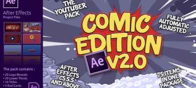 The YouTuber Pack - Comic Edition V2.0