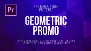 Geometric Title & Lower thirds