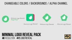 Minimal Logo Reveal Pack