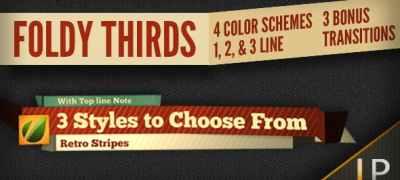 Foldy Lower Thirds