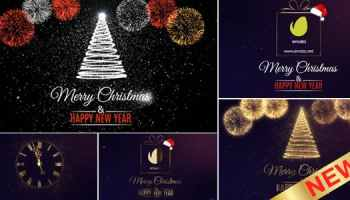 After Effects Projects | Download Merry Christmas Logo