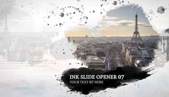 After Effects Projects | Download Ink History Slideshow - FREE