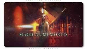 Particles Slideshow Magical Memories
