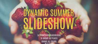 Dynamic Summer Slideshow