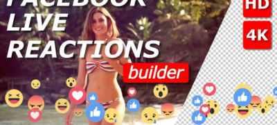 Facebook Live Reactions Builder