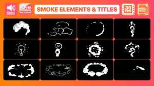 Flash FX Smoke Elements And Titles