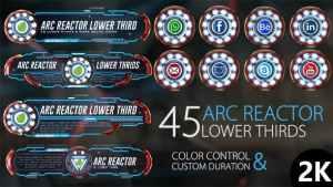 45 Arc Reactor Lower Thirds