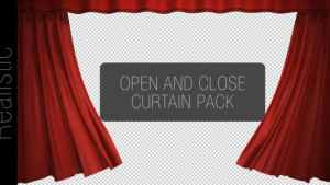 Curtain Open And Close Pack