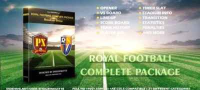 Royal Football Complete Package-Broadcast Design