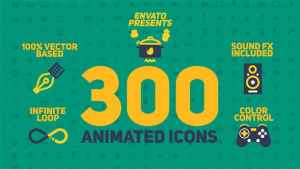 Animated Icons Pack