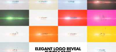 Elegant Logo Reveal Bundle Pack