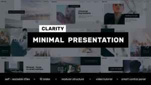 Clarity // Minimal Presentation - Clean Promo