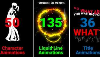 After Effects Projects | Download Liquid Animation Titles