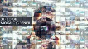 3D Look I Mosaic Opener I Slideshow