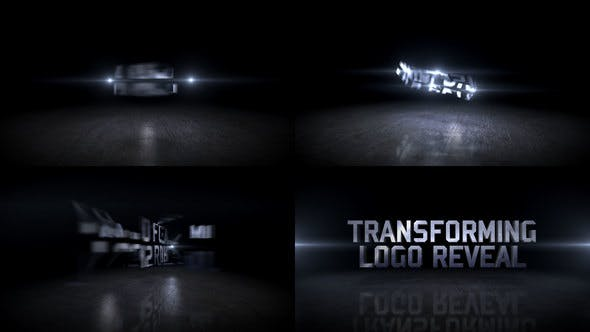 Download Transforming Logo Reveal – FREE Videohive