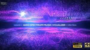 Audio Spectrum Music Visualizer