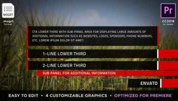 After Effects Projects | Download Insider Lower Thirds - for