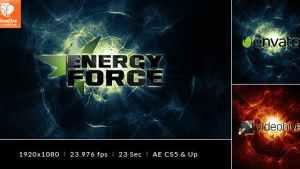 Energy Force - Logo Intro