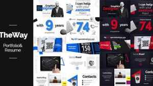 TheWay - Portfolio & Resume