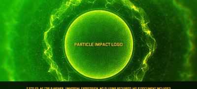 Particle Impact Logo