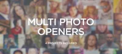 Multi Photo Logo Openers
