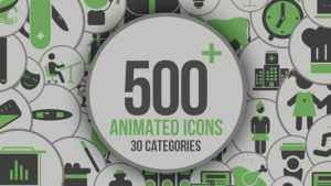 Animated Icons 500+