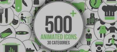 Animated Icons 500+
