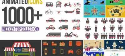 Animated Icons 1000+