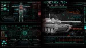 Hud UI Pack 700+