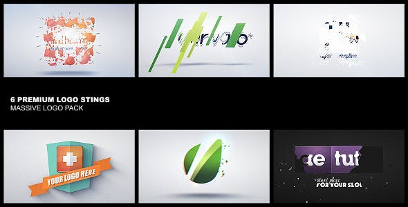 Download Premium Logo Pack 6in1 – FREE Videohive